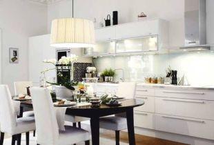 Hófehér konyha egy polgári házban 2.