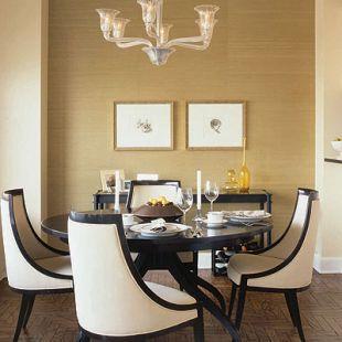 Gyönyörű íves étkező székek