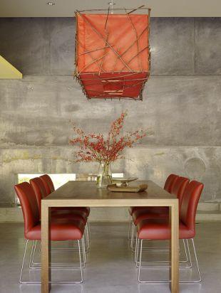 Terrakotta étkezőszékek