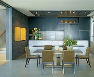 Szürke konyha sárga képekkel