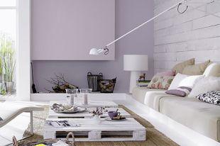 Halvány lila kandalló