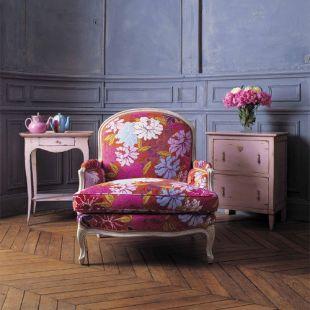 Virágos fotel