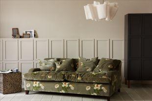 Kényelmes méregzöld kanapé