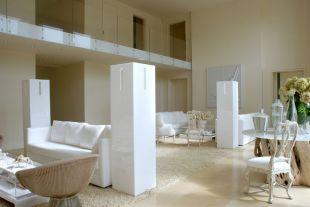 Fehér eklektika galériával