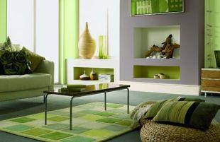 Zöld és lila kombinációja