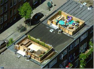 Magán tetőkert