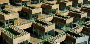 Minimalista egyen lakópark