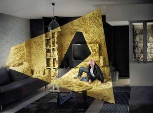 Arany térfestés